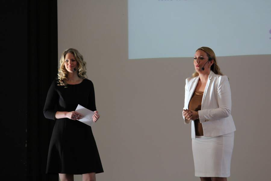 Feminess Business Kongress, Margit Lieverz, Marina Friess,