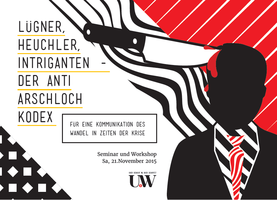 arschloch, anti-arschloch-kodex, aak, seminar, workshop, frankfurt
