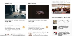 AGITANO-Relaunch, Screenshot, AGITANO