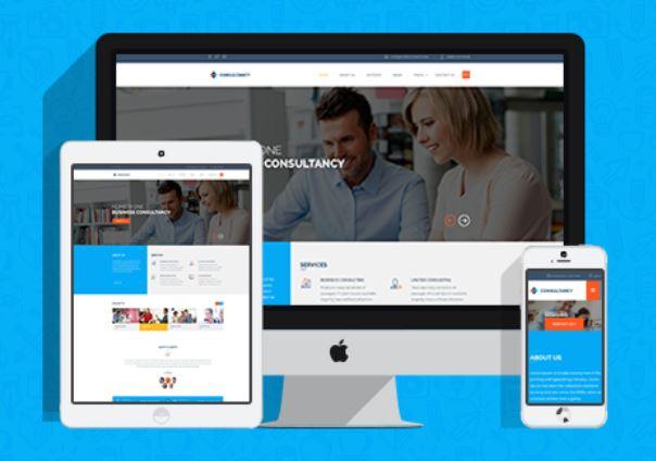 Screenshot Themeforest / Consultancy / Business