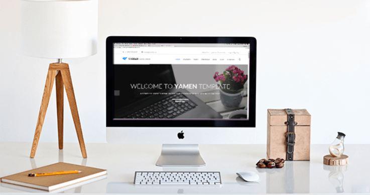 Screenshot Themeforest / YAMEN / Business