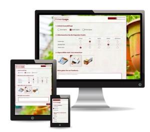 Dank eines responsiven Designs können Mitarbeiterbefragungen für jedermann zugänglich gemacht werden.