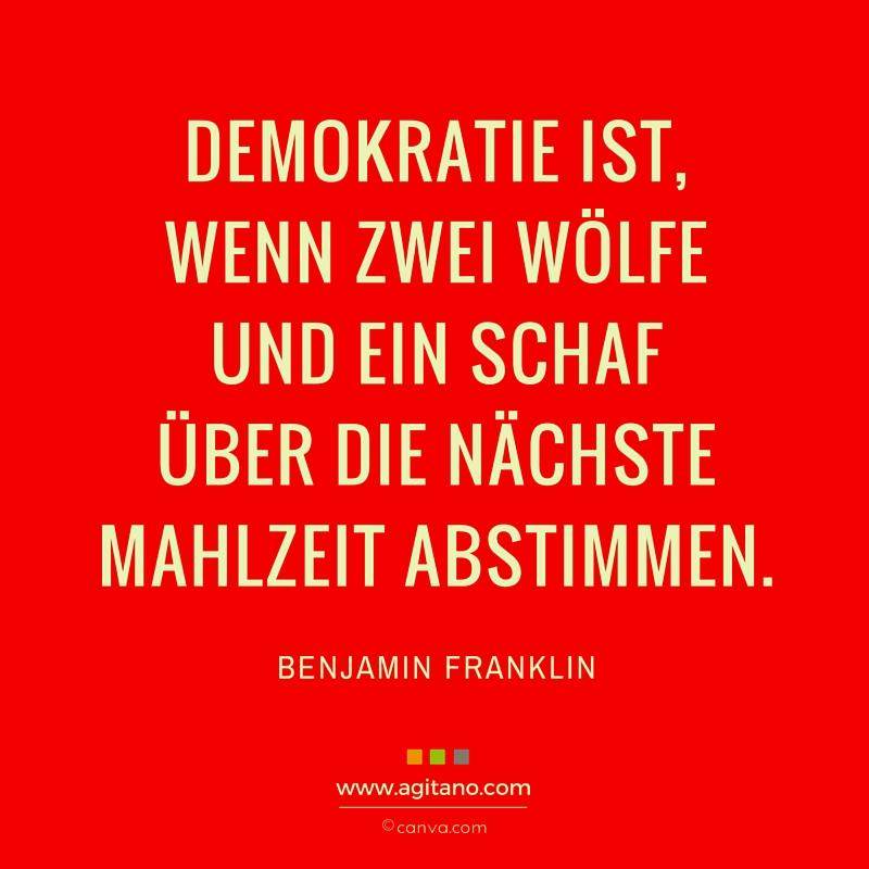 Humor, Politik, Führung, Demokratie