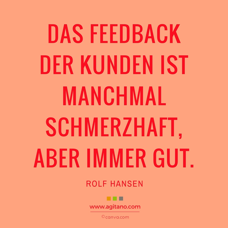 Branding, Marketing, Feedback, Ehrlichkeit