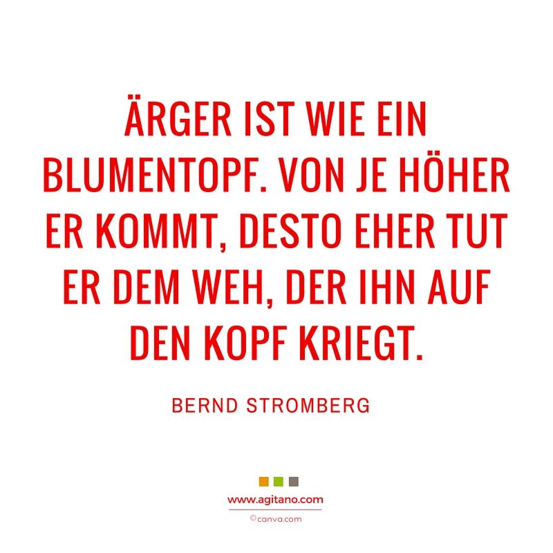 Spruch, Bernd Stromberg, Blumentopf, Leben, Kommunikation, Arbeit, Lustiges