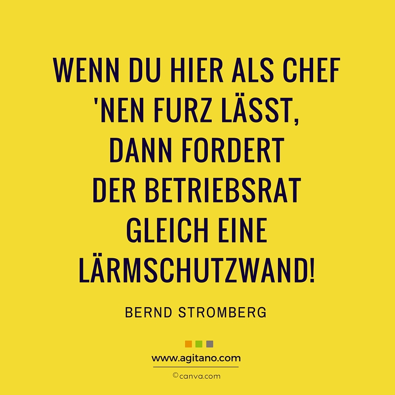 Bernd Stromberg Wenn Du Hier Als Chef Agitano