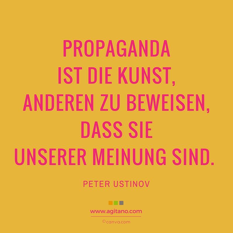 Propaganda, Kunst, Meinung, Politik