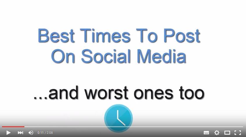 Social Media, Zeit, Post