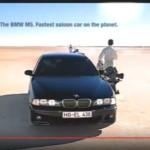 BMW, Auto, M5, Werbung