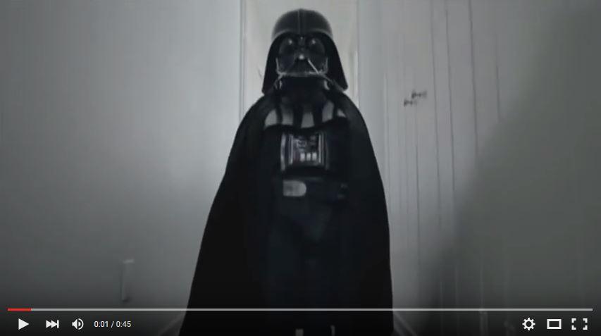 Werbeclip, VW, Passat, Darth Vader