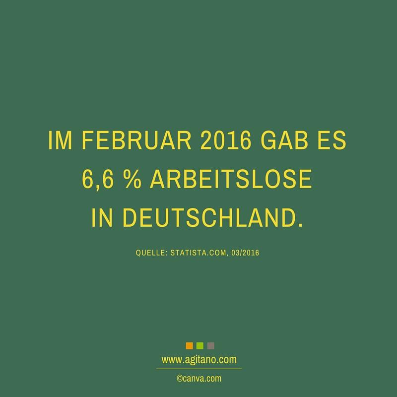 Februar, Arbeitslose, Deutschland, Arbeit