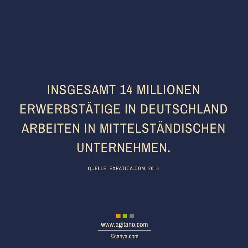 Erwerbstätige, Deutschland, Unternehmen, Mittelstand