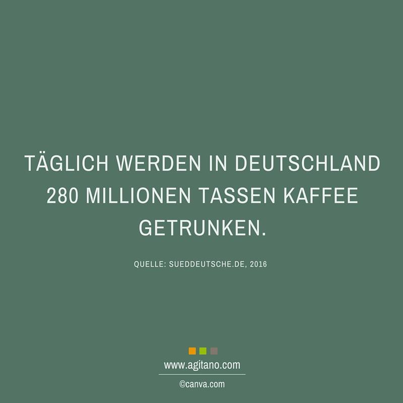 Kaffee, Deutschland, Arbeit