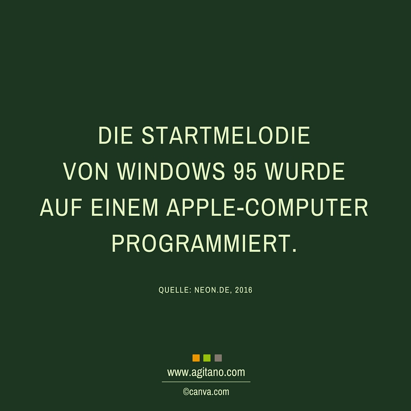 Windows, Startmelodie, Computer, Apple