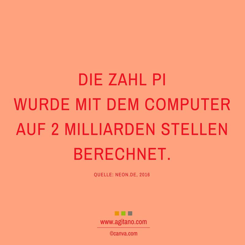 Computer, Zahl, Pi