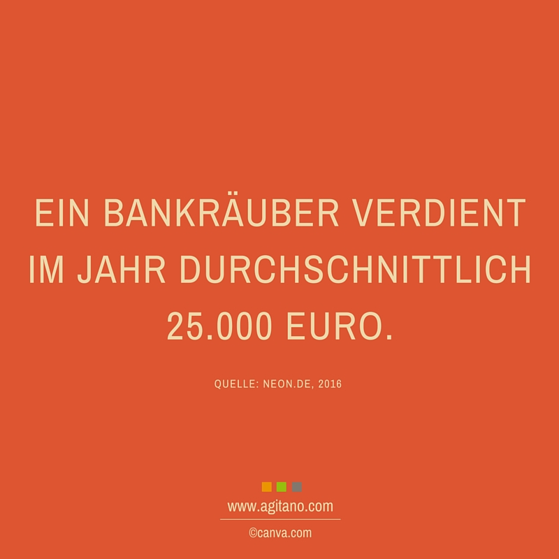 Bankräuber, Jahr, Geld, Gehalt