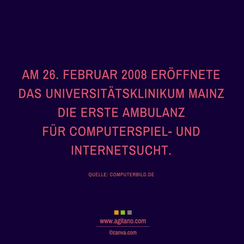 Internet, Sucht, Klinik, Februar
