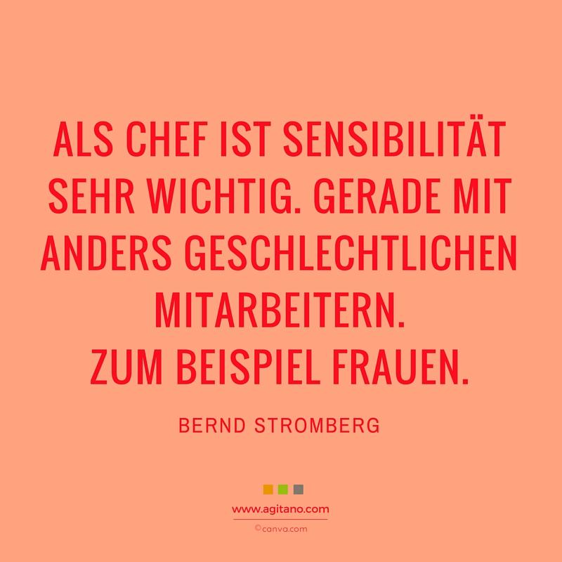 Chef, Sensibilität, Frauen, Spruch, Bernd Stromberg, Kommunikation