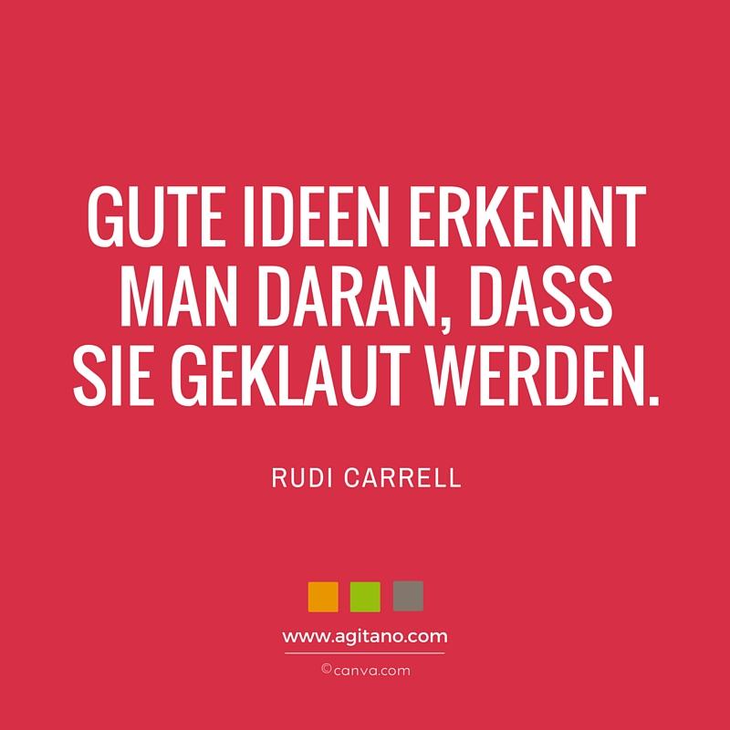 Zitat, Rudi Carrell, Ideen, Klauen, Innovationen