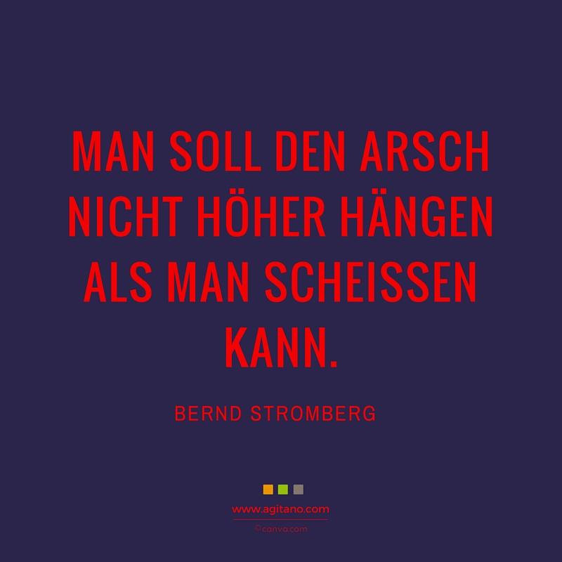 Bernd Stromberg Man Soll Den Arsch Nicht Agitano