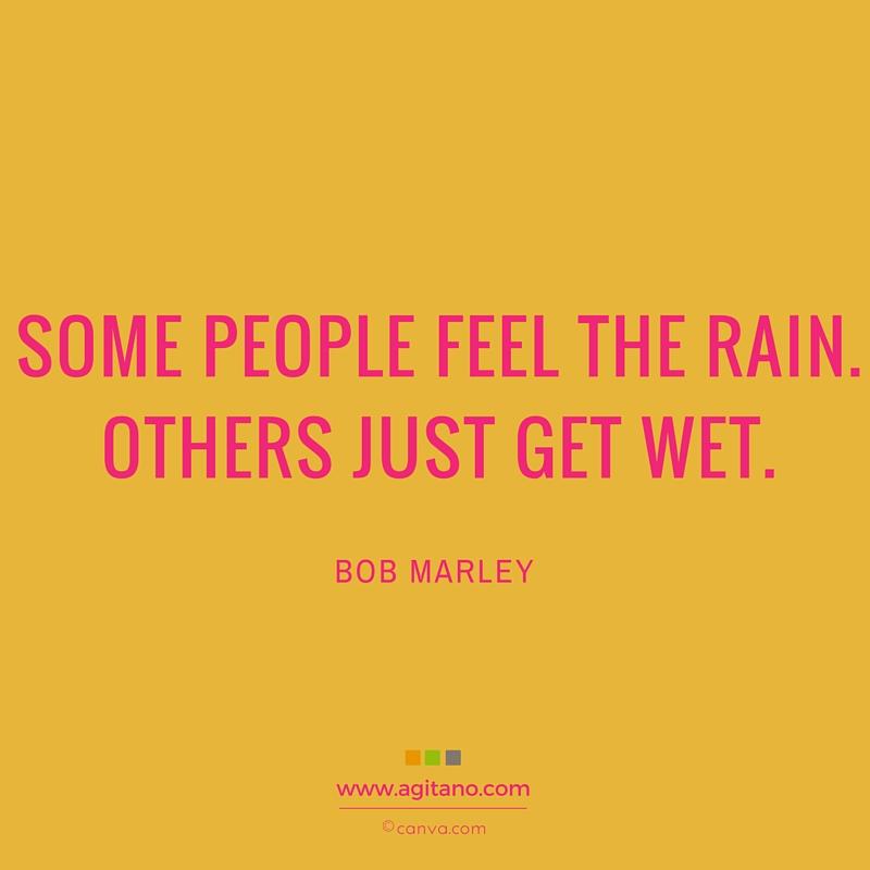 rain, Bob Marley, Optimist, Pessimist