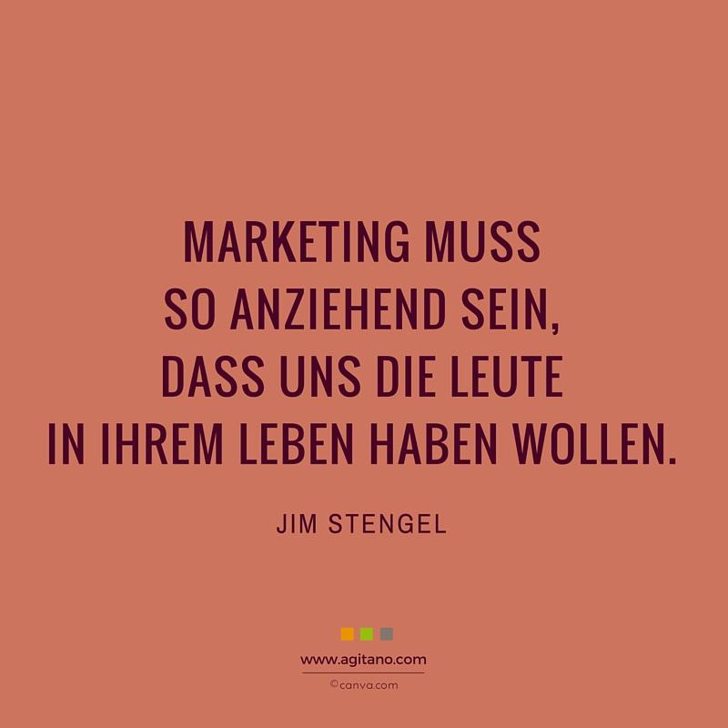 Marketing, Leute, Leben