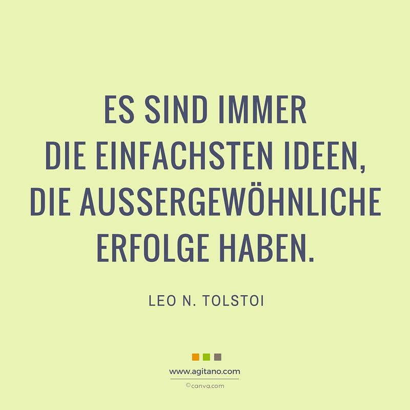 Tolstoi, Ideen, Erfolg,