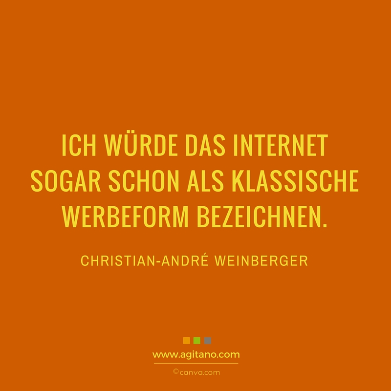 Internet, Weinberger, Marketing