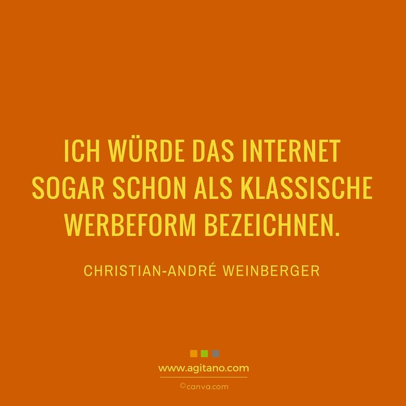 Internet, Weinberger, Marketing