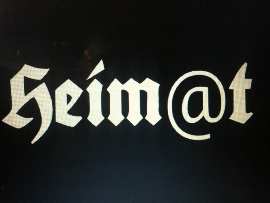 Heim@t?, Was bedeutet uns Deutschen die Heimat