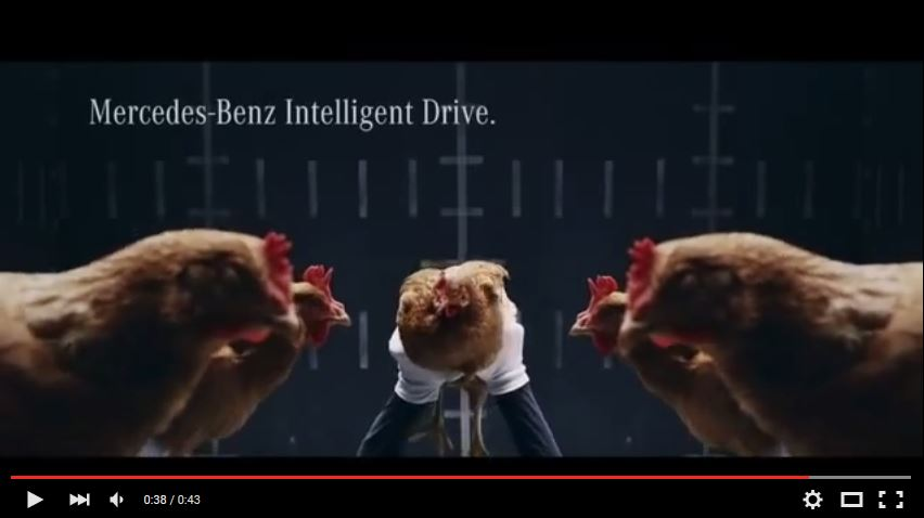 Mercedes, Video, Werbeclip