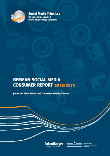 Social Media, Report, Deutschland, Internet