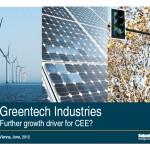 Greentech, Industries, Umwelt,