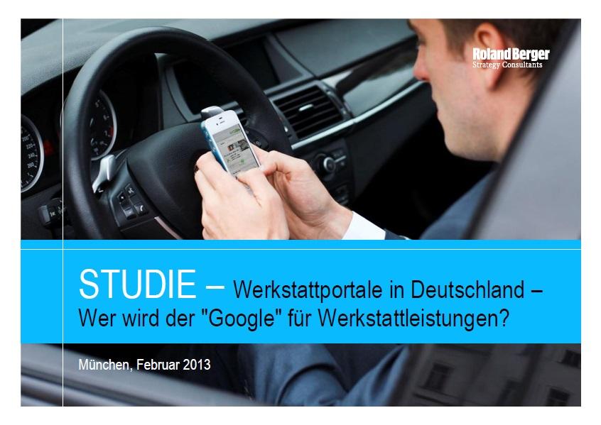 Deutschland, Werkstattportale, Google