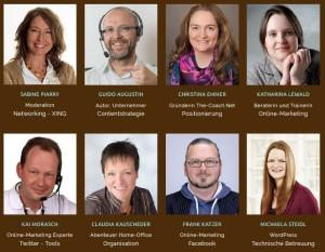 Das Social Media Starter Camp bietet Ihnen 12 Webinare mit 8 Experten. (© Sabine Piarry / Screenshot)