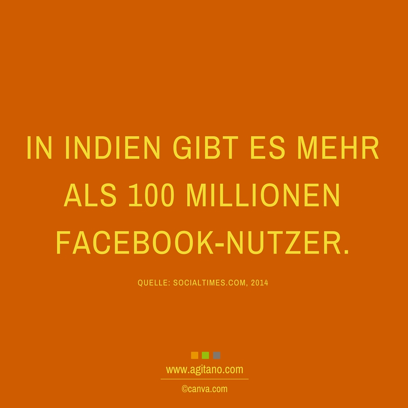 Indien, Facebook, User