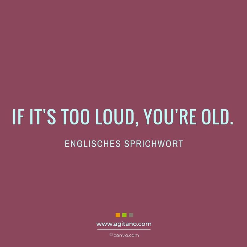 Sprichwort, Alter