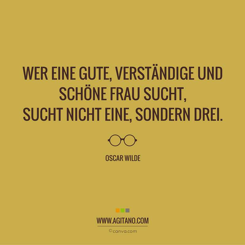 Frauen, Oscar Wilde