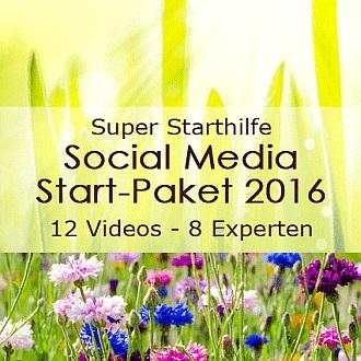 Social Media Start-Paket 2016