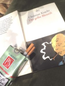 Bleistift, Rückzug ins Private, Stille