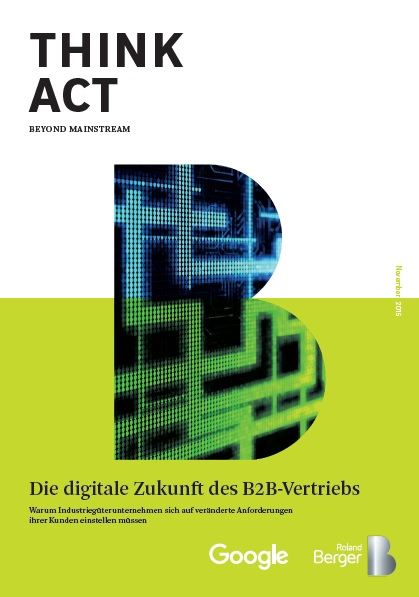 B2B, Marketing, Vertrieb, Digitalisierung