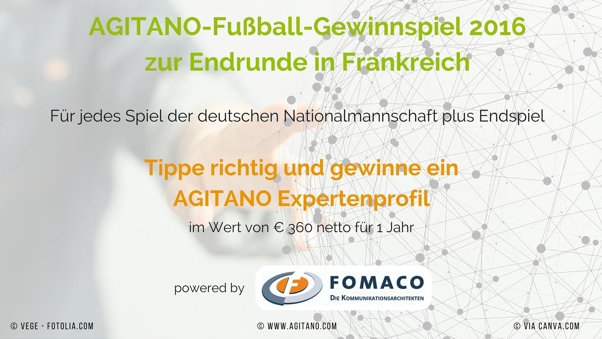 Fußball, AGITANO-Fußball-Gewinnspiel, Frankreich, Gewinnspiel, AGITANO