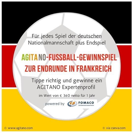 AGITANO-Fussball-Gewinnspiel 2016