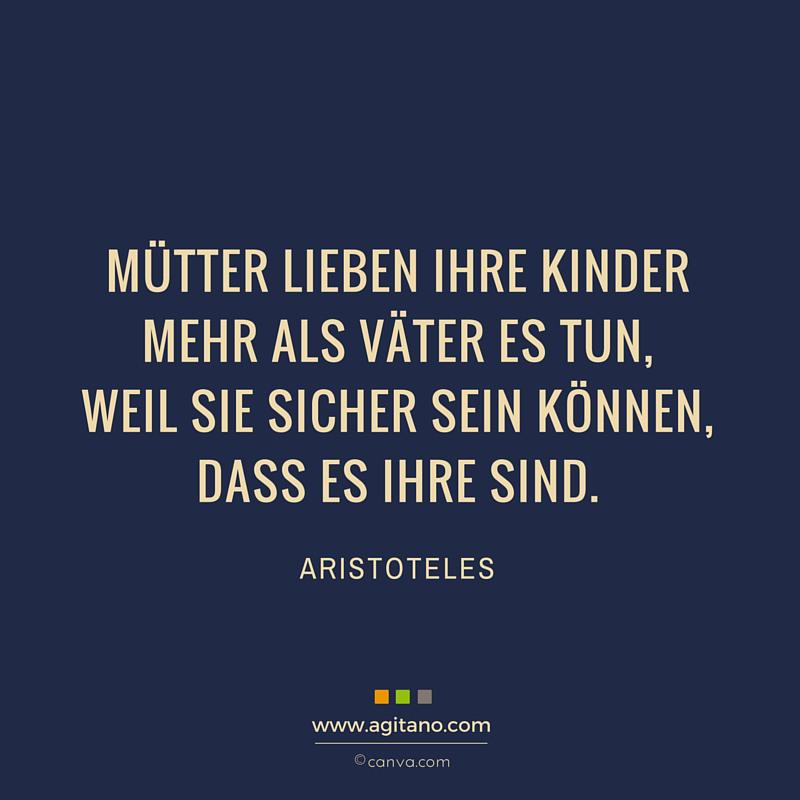 Aristoteles Mütter Lieben Ihre Kinder Mehr Agitano