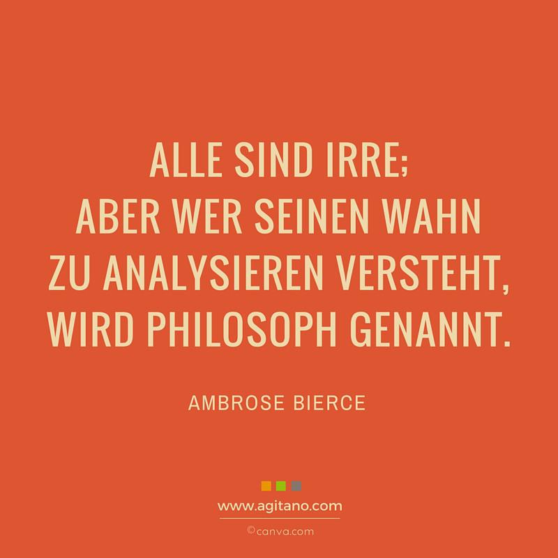 Irre, Philosophie, Leben, Menschen