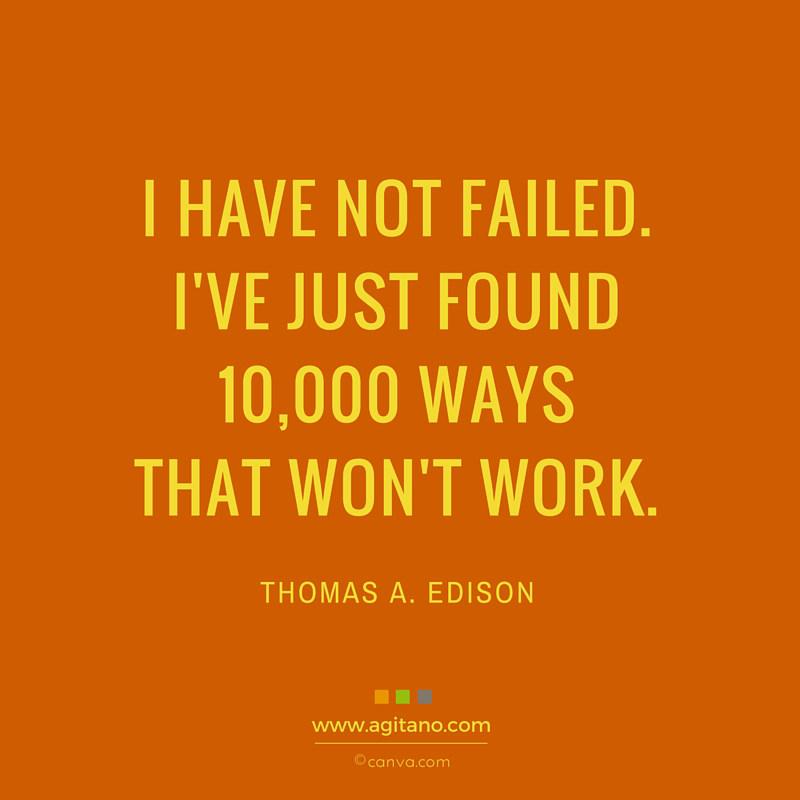 Leben, Persönlichkeit, Scheitern, Innovation, failed