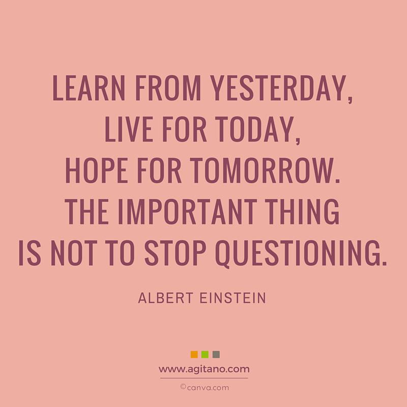 Lernen, Leben, Menschen, Einstein