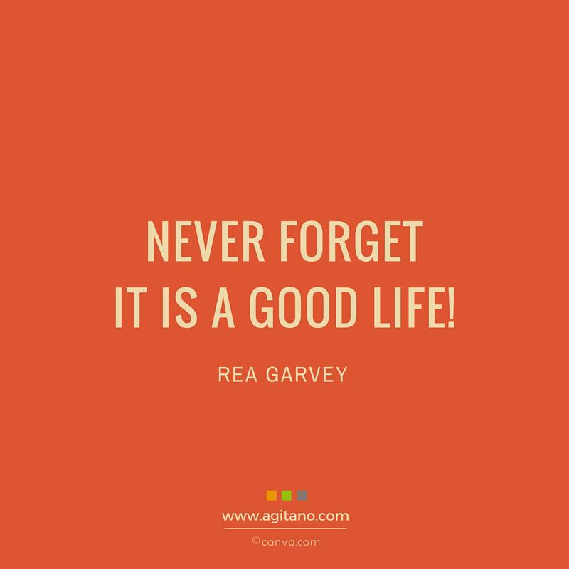 Leben, Glück, Never