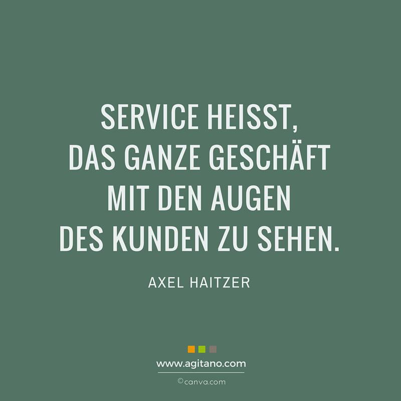 Service, Erfolg, Management