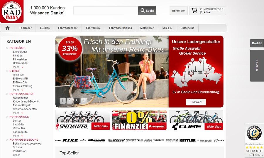 Online-Shop, eCommerce, Handel
